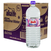 Alkalife Alkaline Water - 1.5L case of 9 bottles